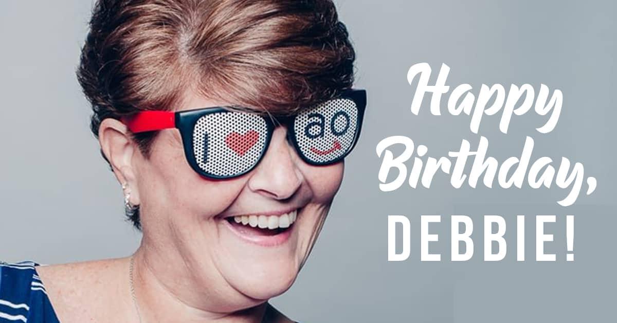 Appel debbie bday 1200x628 - Happy Birthday, Debbie!
