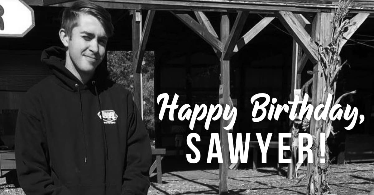 8F4E451C 9CE2 4602 8561 41EFCA8D4CA5 - Happy Birthday, Sawyer!
