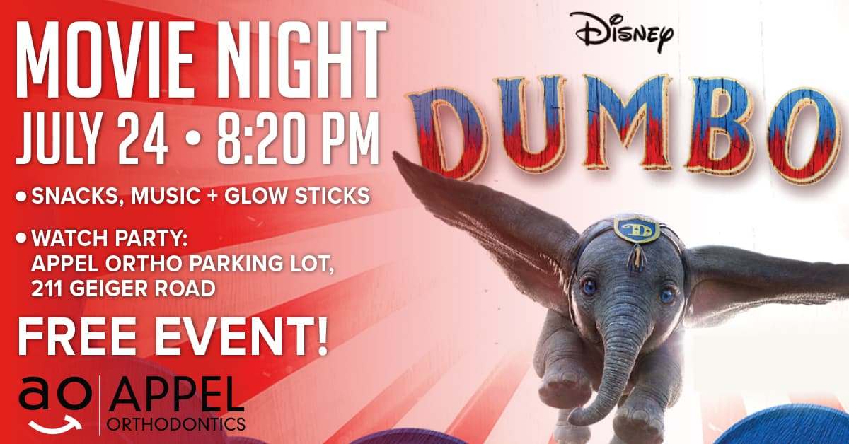 appel dumbo 1200x628 - Free Movie Night at AO!