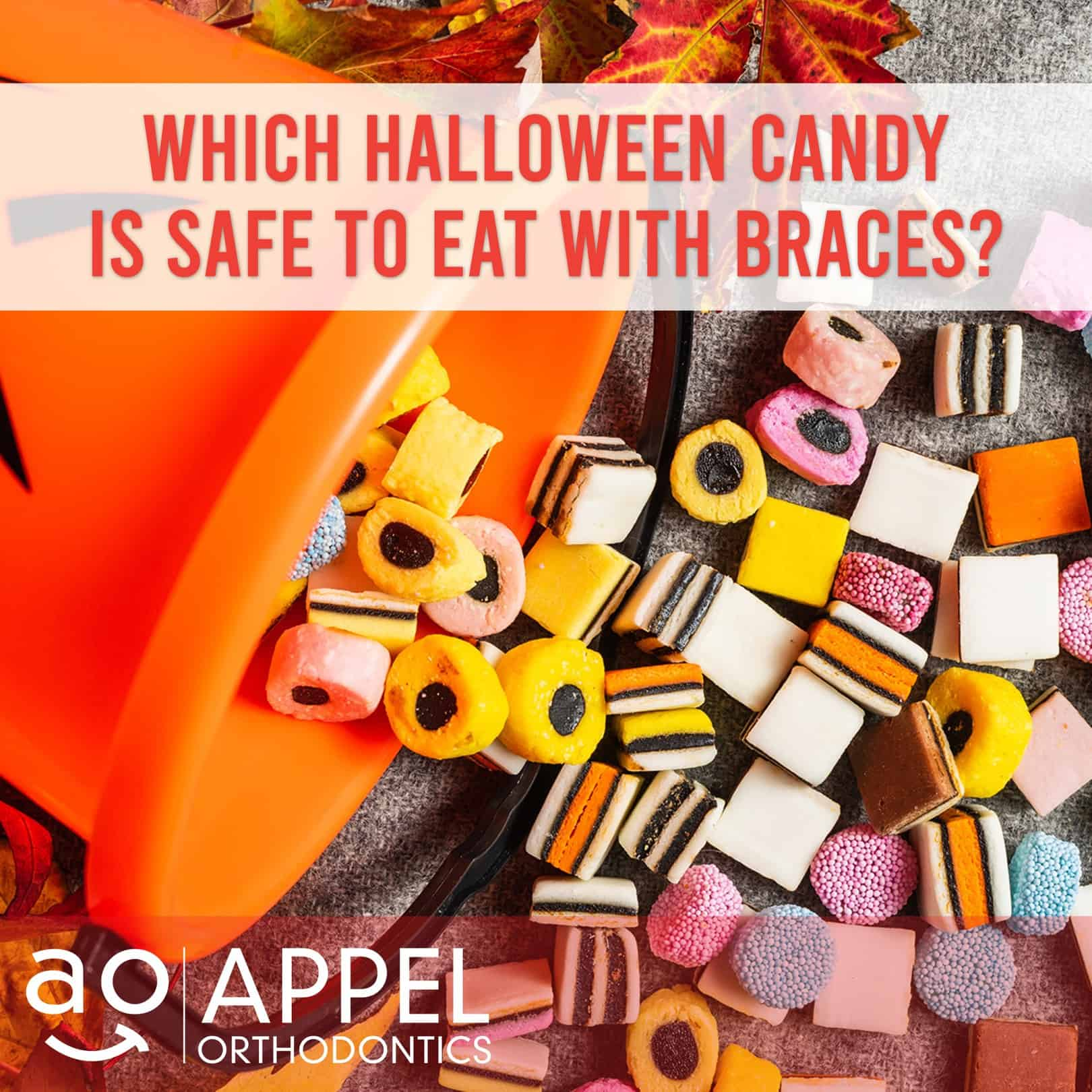 Best and Worst Halloween Candy for Kids with Braces