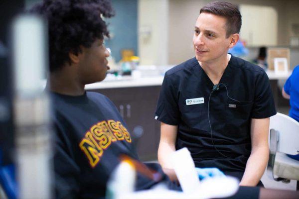 Appel Orthodontics Philadelphia Orthodontist Staff Candids 107 600x400 - Meet Dr. Andrew Appel
